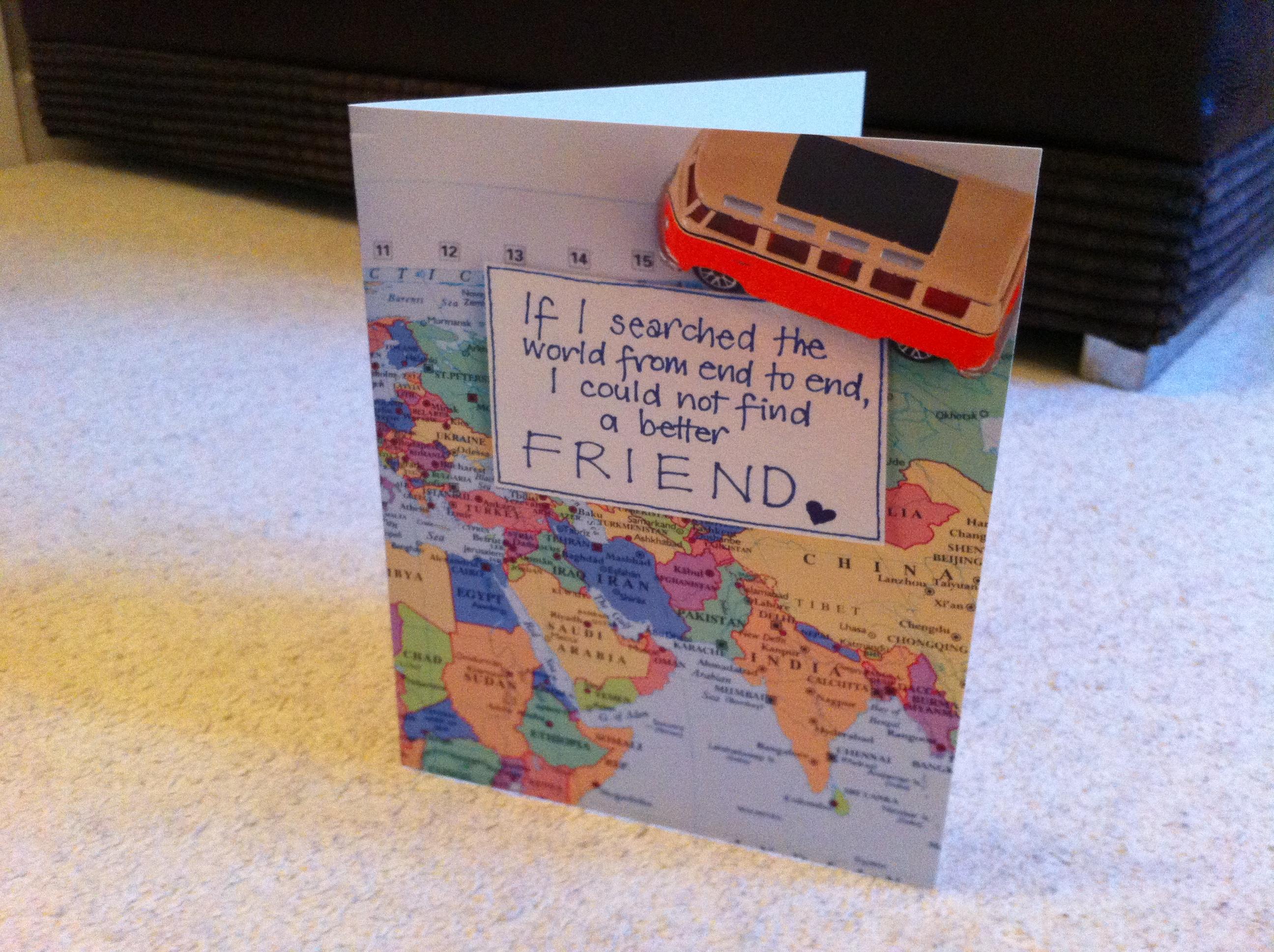 a long distance friendship travel blog