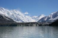 Face of glacier