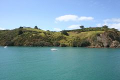 Arriving at Waiheke Island