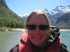 Me on jet boat