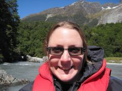 Me on the Dart River Jet Safari