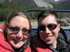 Us on Scenery on the Dart River Jet Safari