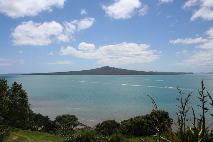 View from North Head or Rangitoto