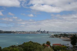 View of Auckland from North Head