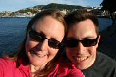 Us enjoying Wellington waterfront