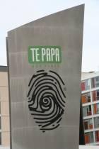 Te Papa sign