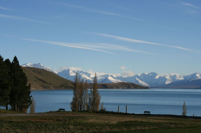 The very beautiful Lake Tekapo