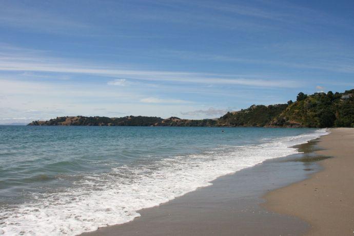 Beautiful Onetangi beach