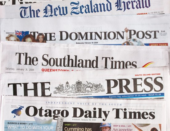 Newspaper of New Zealand