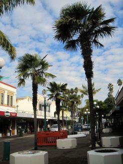 Napier city centre
