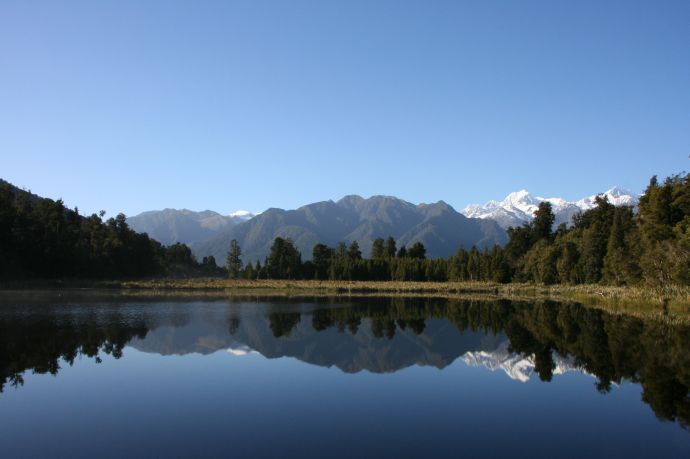 Reflection at Lake Mathieson