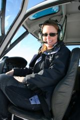 Me in the helicopter