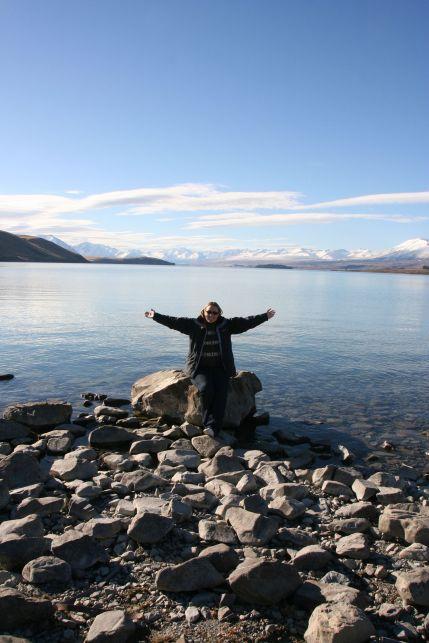 At Lake Tekapo