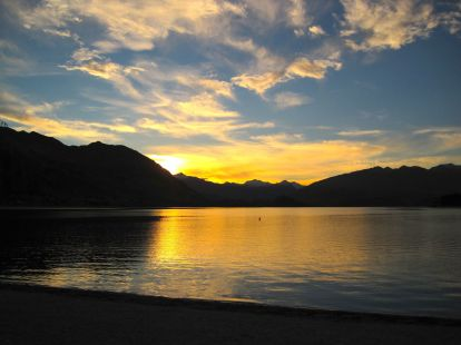 Wanaka sunset