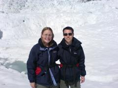 Us on Franz Josef glacier