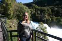 Me at Huka Falls