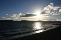The shores of Lake Taupo