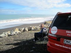 Picnic near Cape Palliser