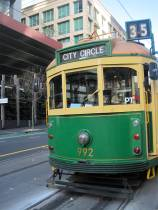 Free wooden tram