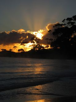 Binalong bay sunrise