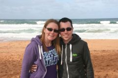 Me and John at Bilgola Beach