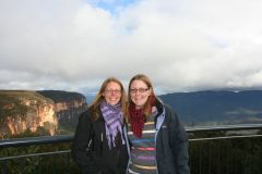 Me and Kat at the Blue Mountains