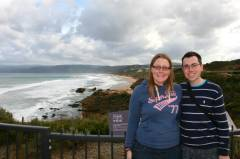 Us near Split Point Lighthouse