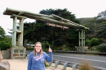 Me on the Great Ocean Road