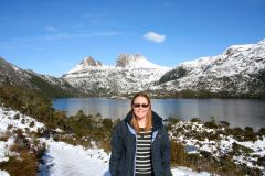 On Dove Lake walk