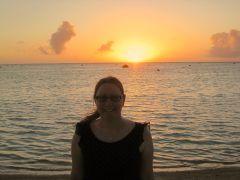 One beautiful sunset