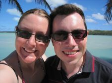 Happy on Aitutaki