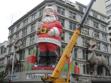Queen Street Santa