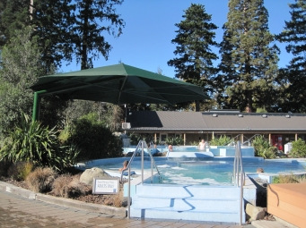 Pool in the complex