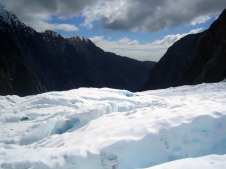Stunning views from the glacier