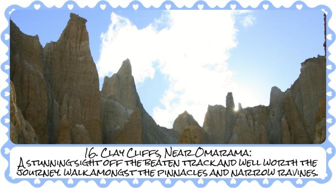 16. Clay cliffs