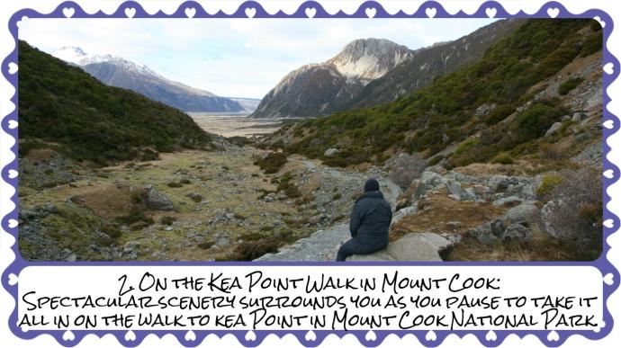 2. Mount Cook Kea Point